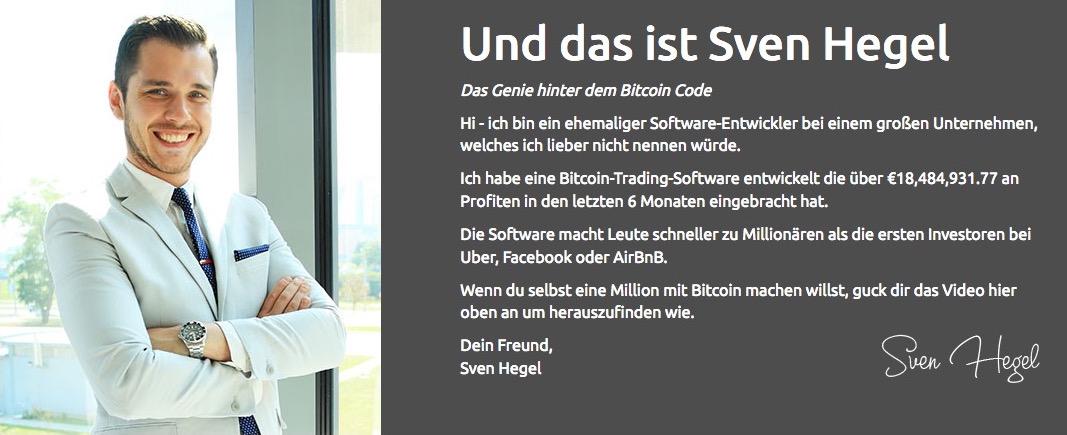 Sven Hegel Bitcoin