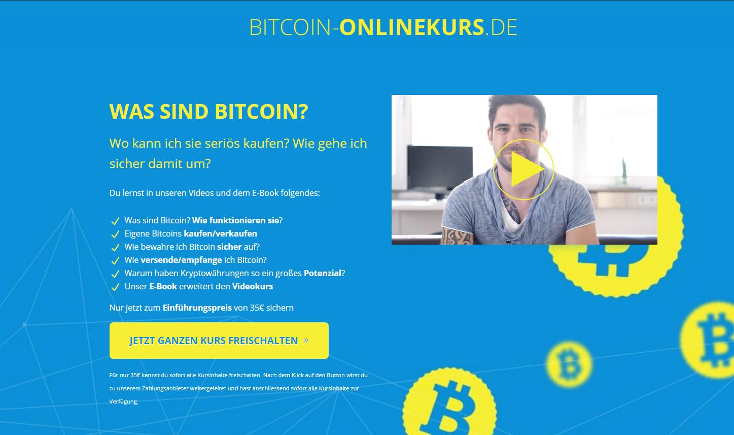 Bitcoin Online Kurs 1