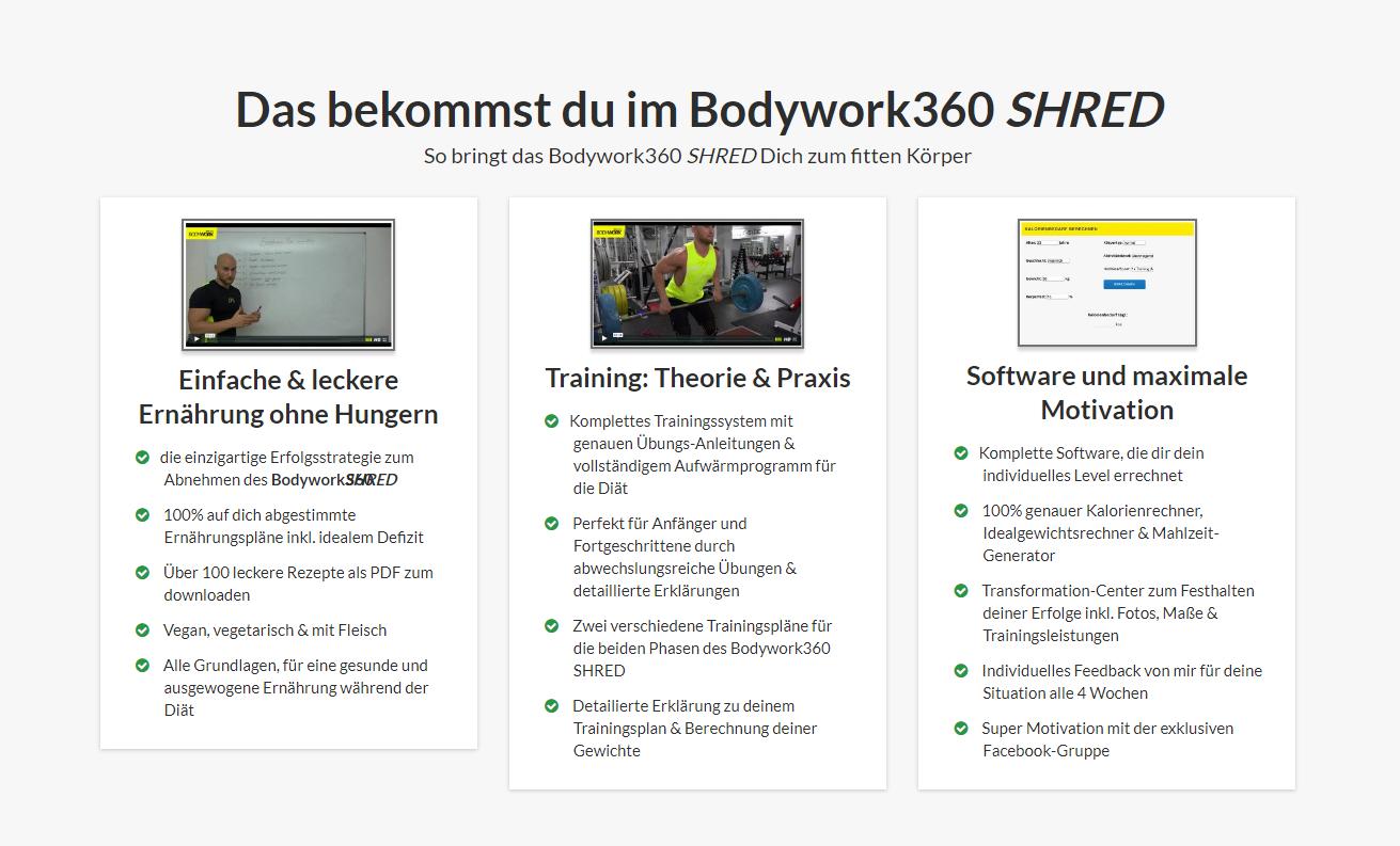 Bodywork360 Shred 2