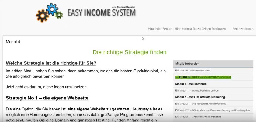 easy-income-system-screenshot