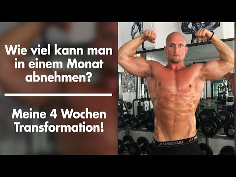 Wie viel kann man in einem Monat abnehmen? - Meine 4 Wochen Transformation / KARL-ESS.com