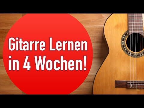 Gitarre Lernen in 4 Wochen Crashkurs mit Georg Norberg