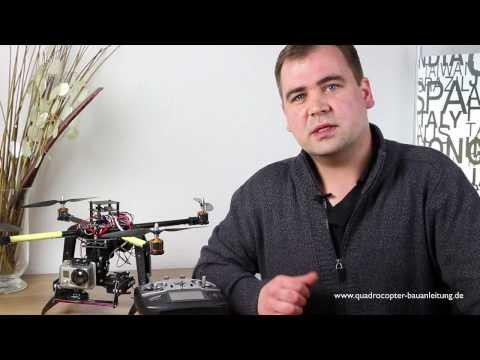 Quadrocopter Bauanleitung - So kannst Du einen Quadrocopter selber bauen