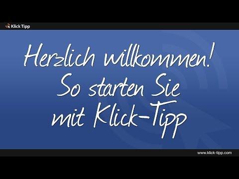 So starten Sie mit Klick-Tipp