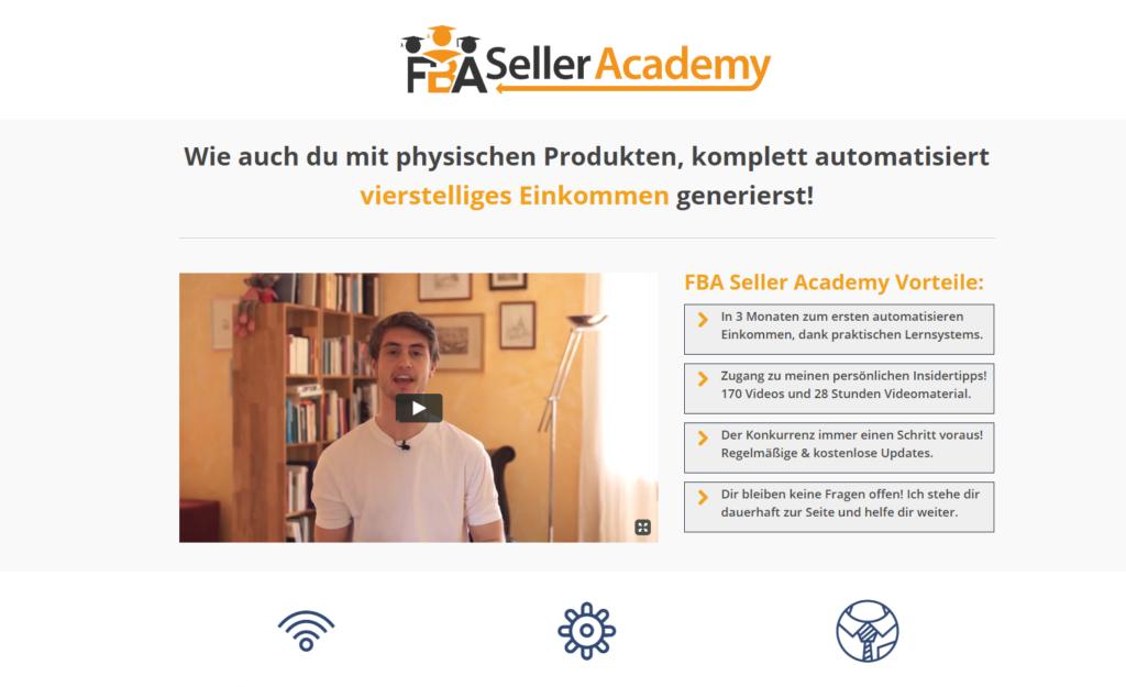 FBA Seller Academy Screenshot 1