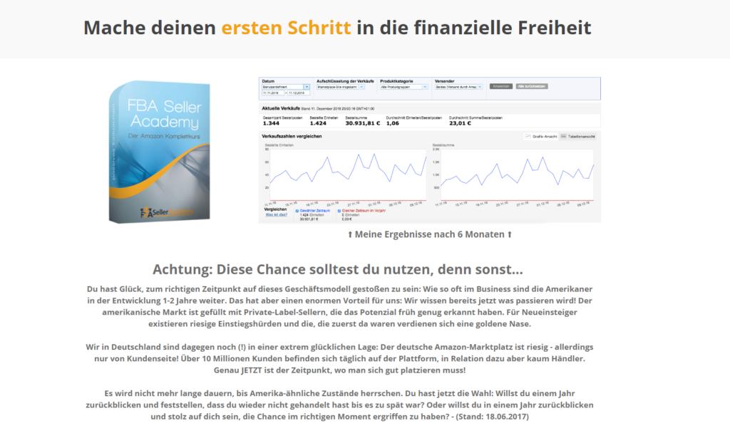 FBA Seller Academy Screenshot 2