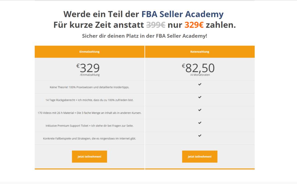 FBA Seller Academy Screenshot 3