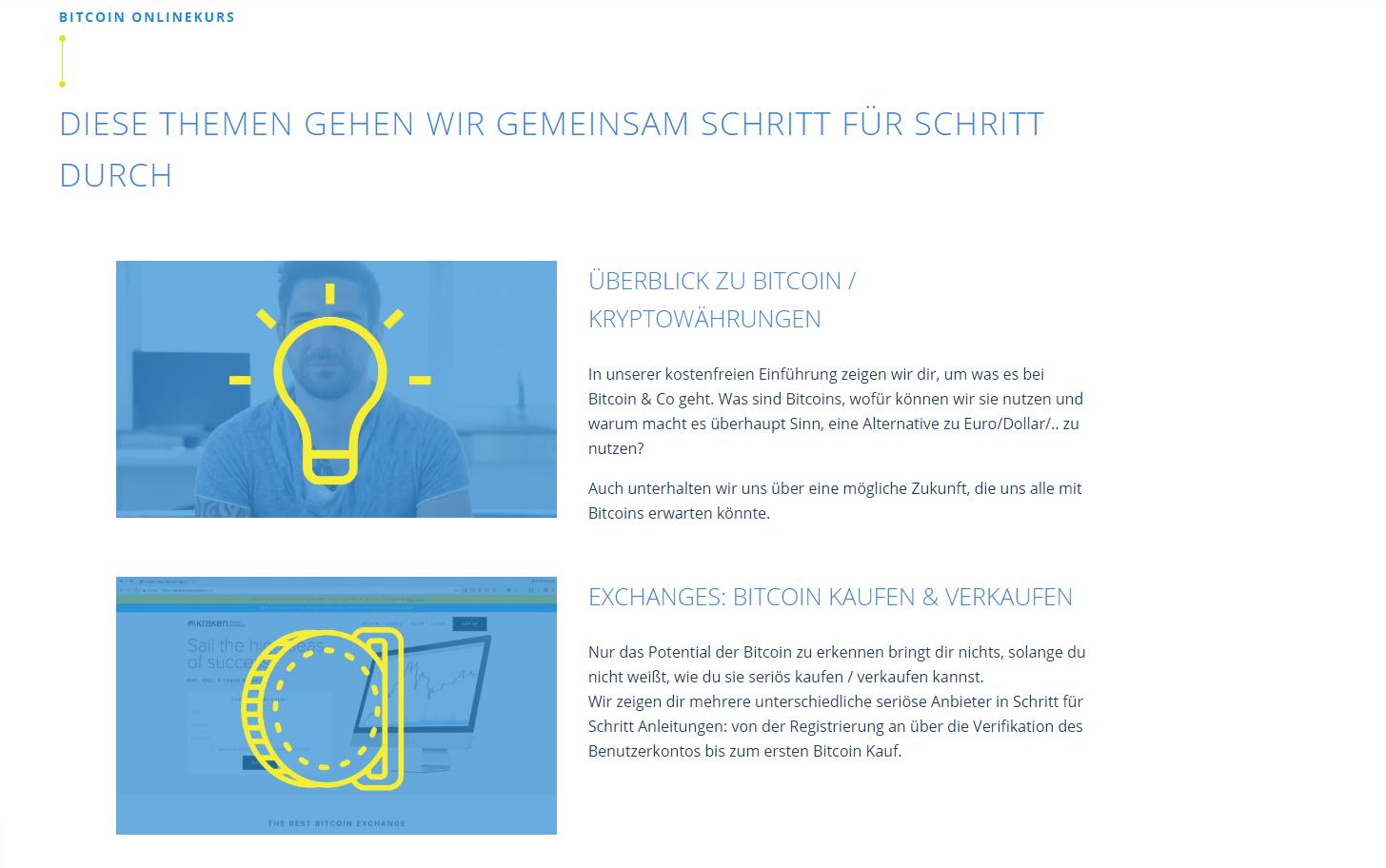 Bitcoin Online Kurs 3