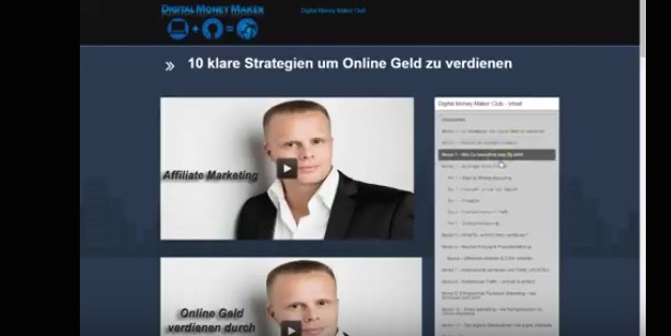 Digital-Money-Maker-Club-INHALTE