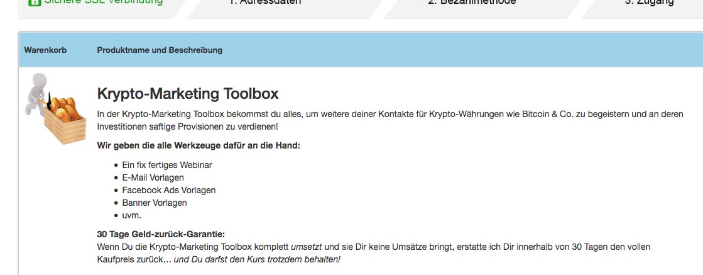 Krypto-Marketing -Toolbox