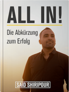 All-In-buch-said-shiripour erfahrung